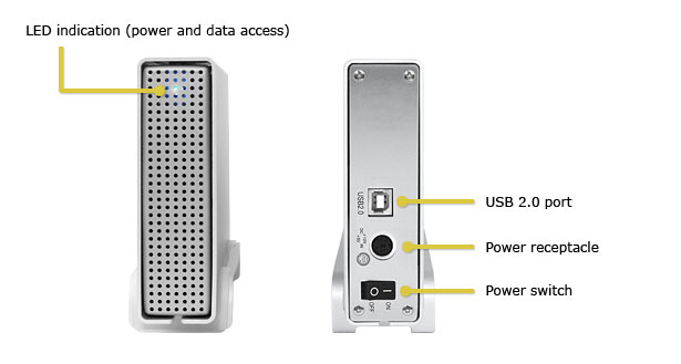 PD-SATA USB-FX Desktop Hard Drive Enclosure